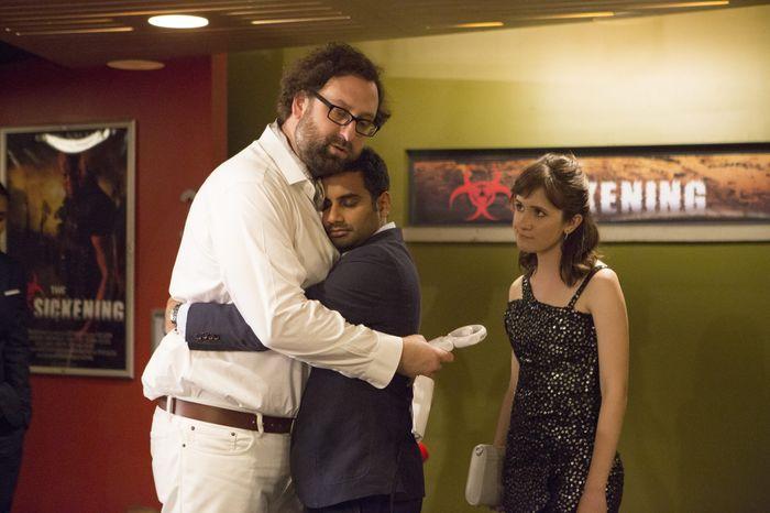 """Aziz Ansari en el medio es el protagonista de """"Master of None"""""""