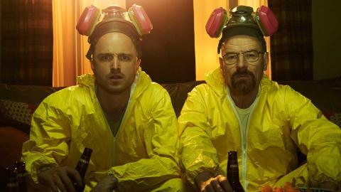 """Aaron Paul, Bryan Cranston, """"Breaking Bad"""", netflix"""