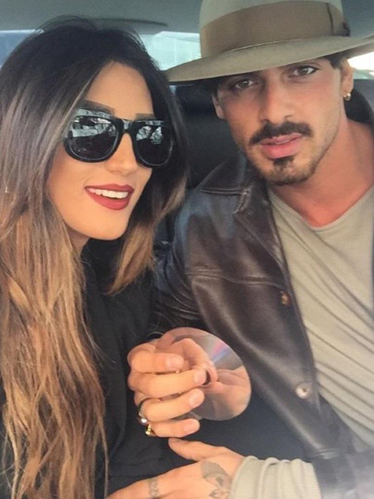Michele Morrone y su esposa Rouba antes de la separación, 365 DNI, netflix, italia