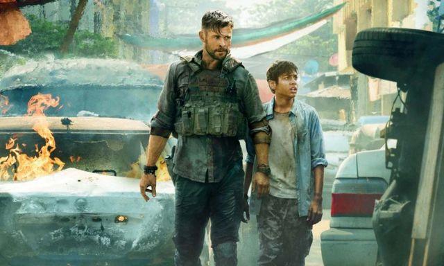"""Chris Hemsworth en """"Extraction"""" o """"Misión de Rescate"""""""