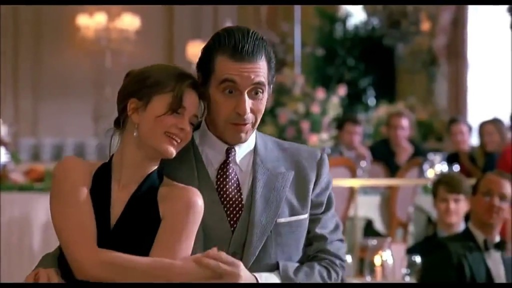 Esta escena es especialmente famosa, el tango de Al Pacino con Gabrielle Anwar