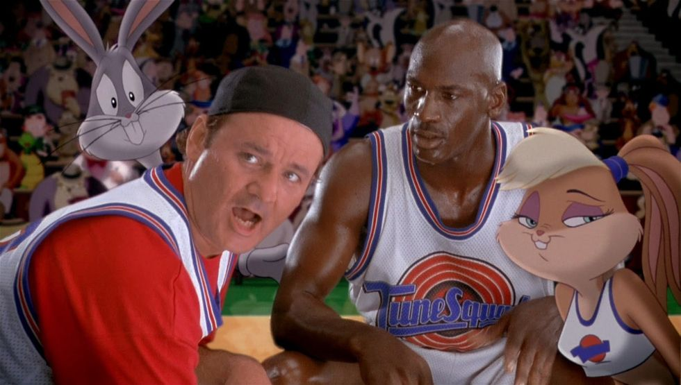 "Bill Murray , Michael Jordan , ""Space Jam"""