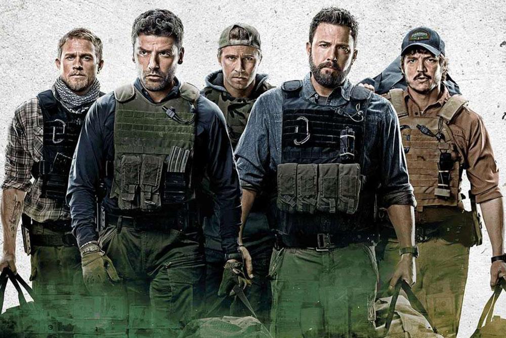 Charlie Hunnam, Oscar Isaac, Garrett Hendlund, Ben Affleck, Pedro Pascal