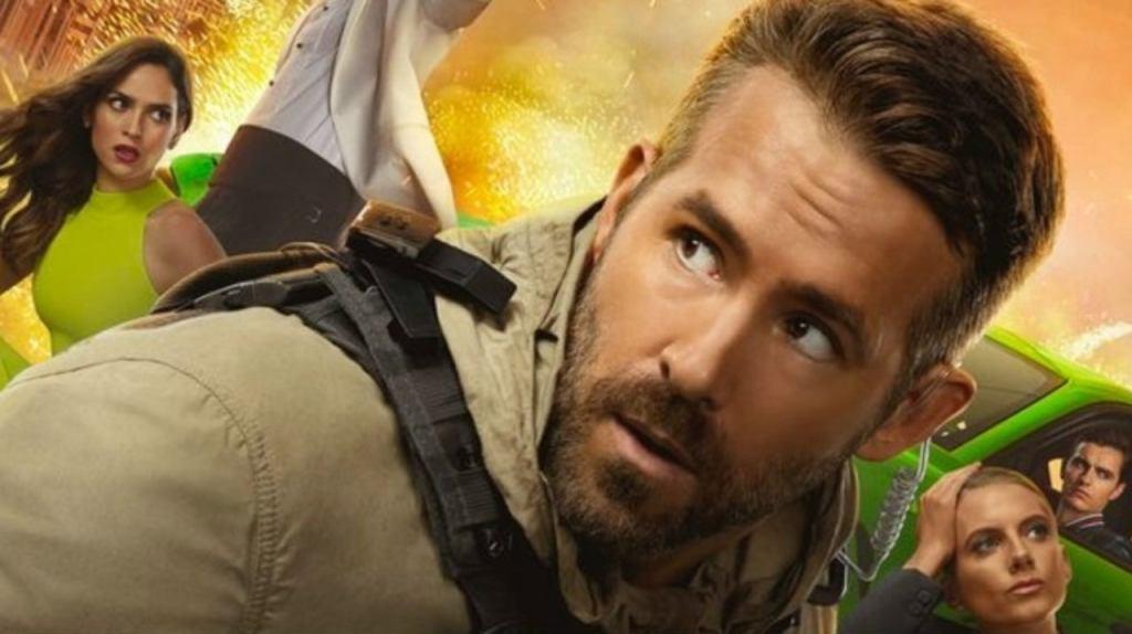 "Ryan Reynolds en ""Escuadrón 6"""