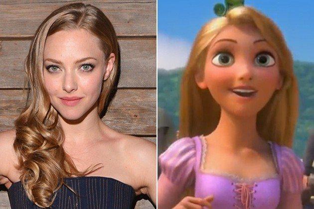 Amanda Seyfriend como Rapunzel