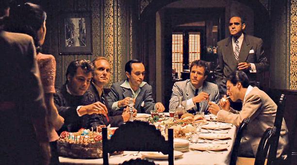 """Al Pacino representando a Michael Corleone en una escena de """"El Padrino"""" primera parte."""