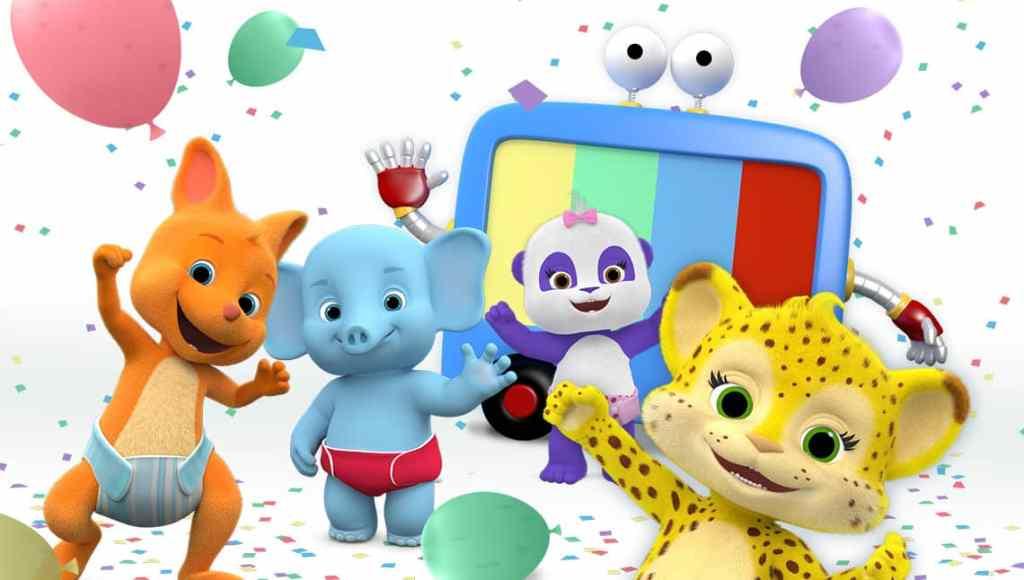 Bailey el elefante, Franny la chita, Lulu la panda ,Kip el Ualabí, netflix