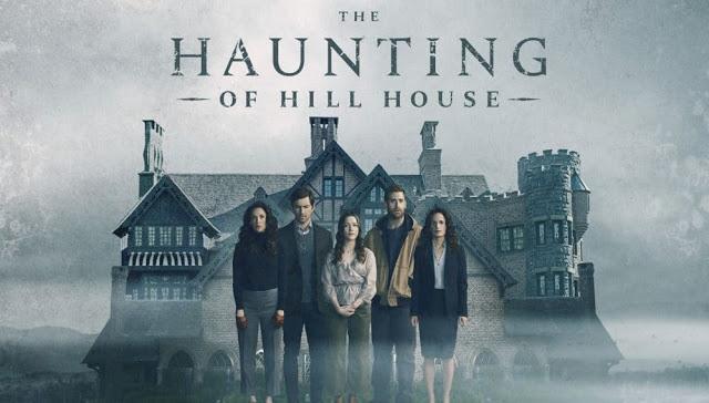 Kate SIegel, Michiel Huisman, Victoria Pedretti, Oliver Jackson-Cohen, Elizabeth Reaser; la maldicion de hill house