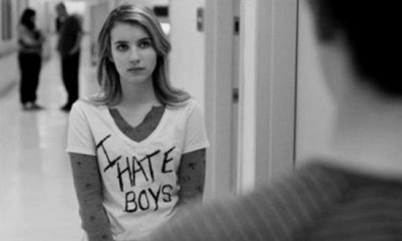 """Emma Roberts en """"Una historia casi divertida"""""""