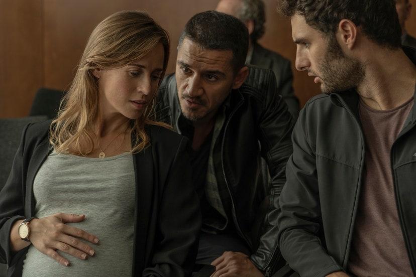 Marta Etura ,Carlos Librado y Eduardo Rosa ,El legado en los huesos