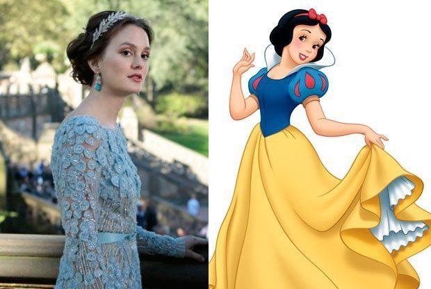 Leighton Meester como Blancanieves, disney