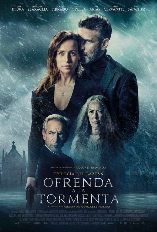 El póster de Ofrenda a la tormenta