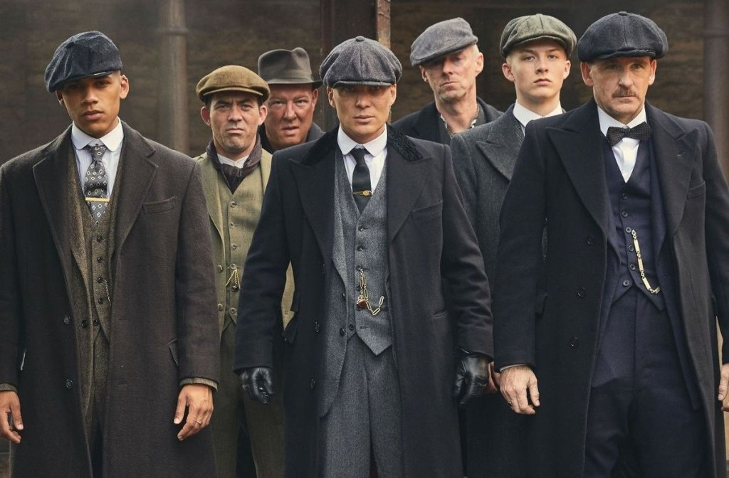 "Cillian Murphy personifica a Tommy Shelby en ""Peaky Blinders"""
