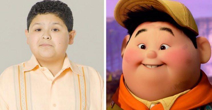 "Rico Rodríguez, Russell en ""Up"", disney"