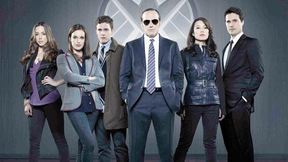 Clark Gregg al frente de los agentes de S.H.I.E.L.D.