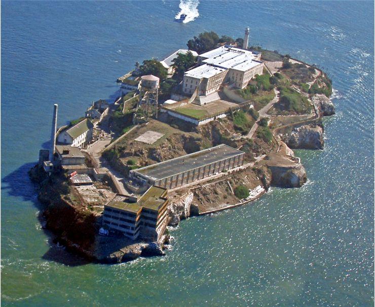 La mítica Isla de Alcatraz, Bahía de San Francisco
