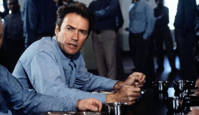 """Clint Eastwood en """"La Fuga de Alcatraz"""""""