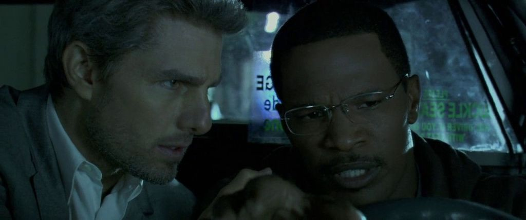 "Tom Cruise y Jamie Foxx en ""Colateral"""