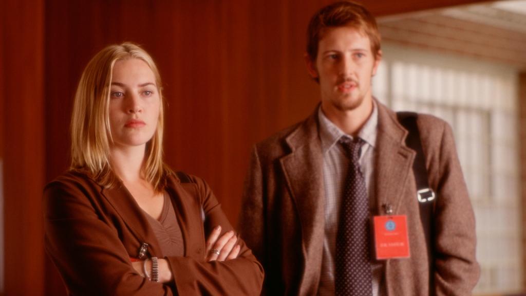 """Kate Winslet y Gabriel Mann en """"La vida de David Gale"""""""