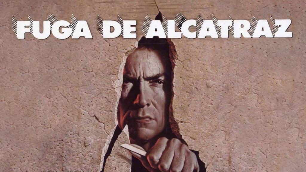 Clint Eastwood ,La Fuga de  Alcatraz, netflix