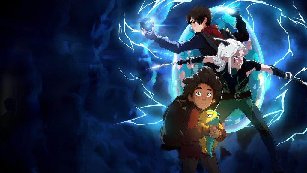 """""""El príncipe de los dragones """" es una serie animada creada por Aaron Ehasz y Justin Richmond"""