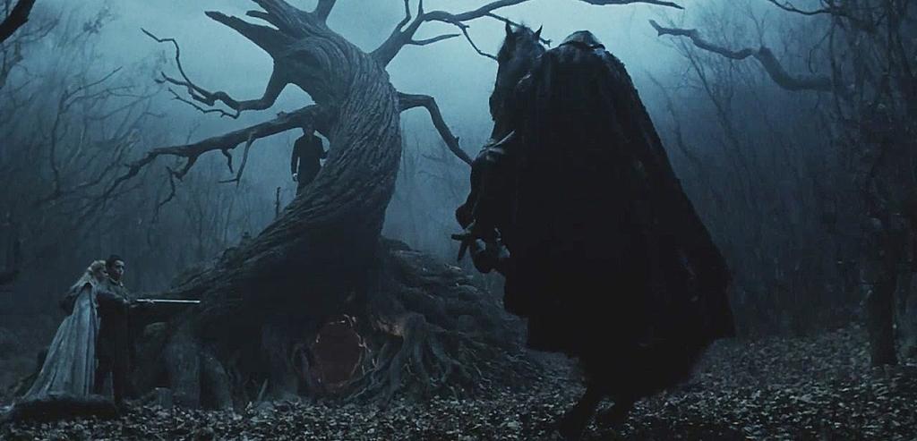 Sleepy Hollow solo podía ser concebida con el oscuro estilismo de Tim Burton