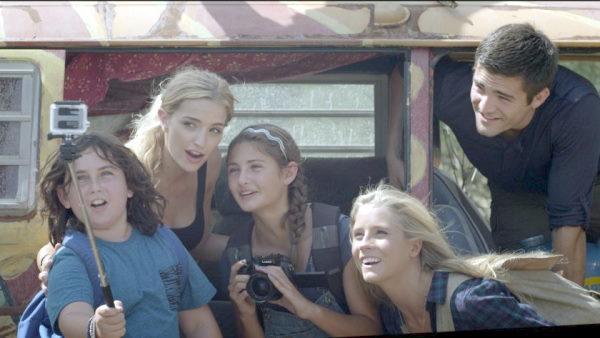 Cinco adolescentes que viajan en el tiempo por accidente, netflix