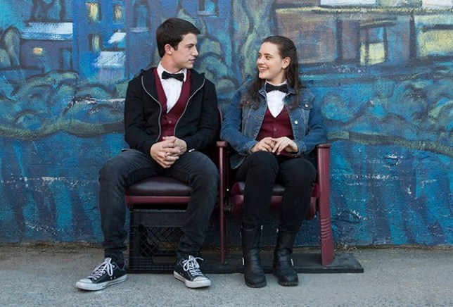 Katherine Langford , Dylan Minette ,13 reasons why