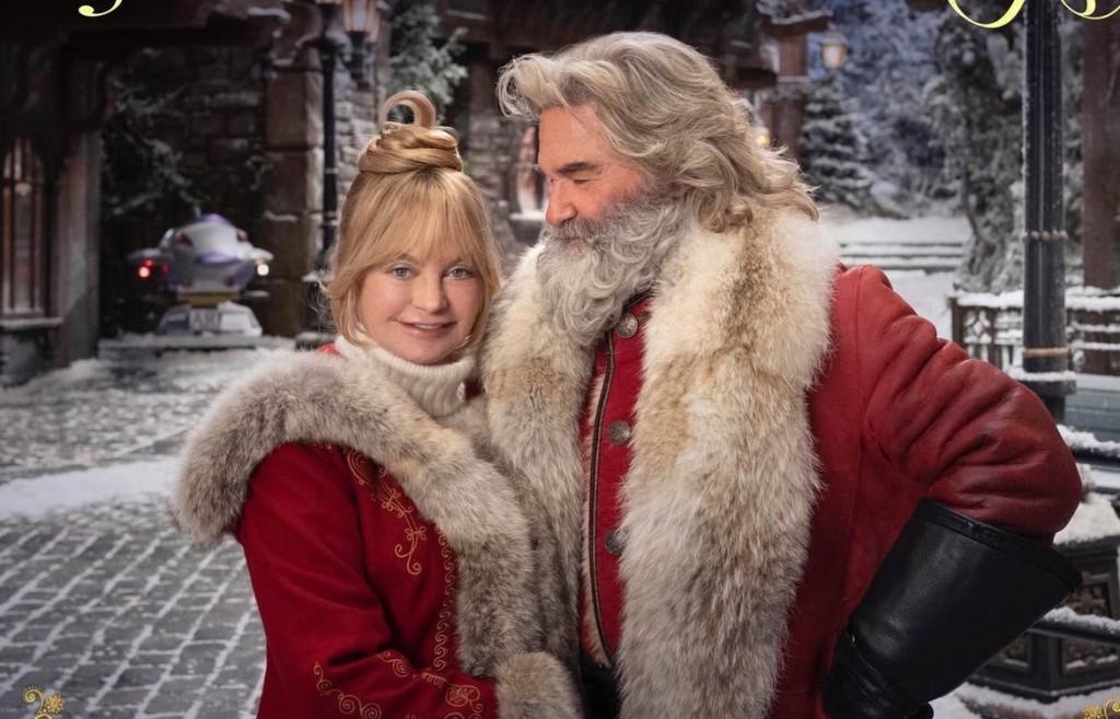 """Kurt Russell y Goldie Hawn en """"Crónicas de Navidad 2"""""""
