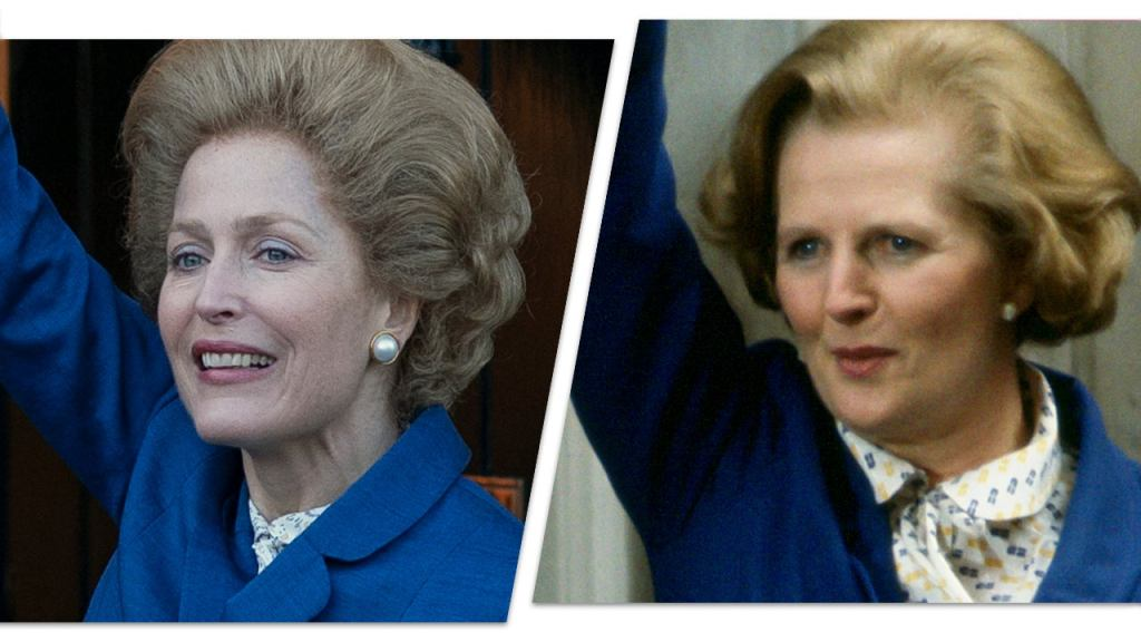 """Gillian Anderson, Margaret Thacher , """"The Crown"""""""