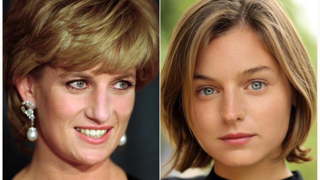 Lady Diana , Emma Corrin ,The Crown