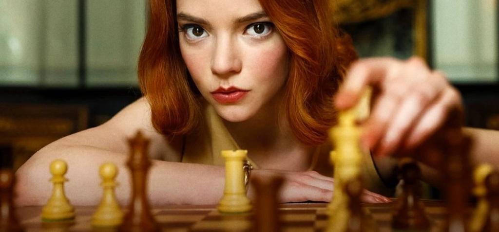 "Anya Taylor-Joy, actriz inglesa-argentina,""Gambito de Dama"""