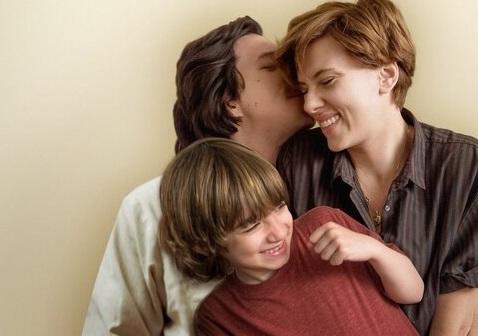 "Adam Driver y Scarlett Johanssonen ""Historia de un matrimonio"""