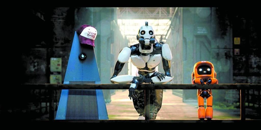 """""""Tres robots"""" es uno de los capìtulos de """"Love, death and robots"""""""