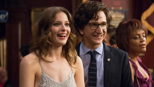 "Gillian Jacobs y Paul Rust en ""Love"""