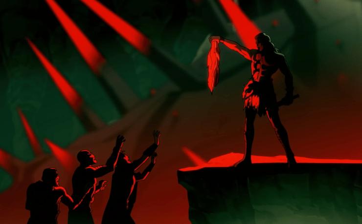 Sangre de Zeus cuenta la leyenda de un ejército de demonios