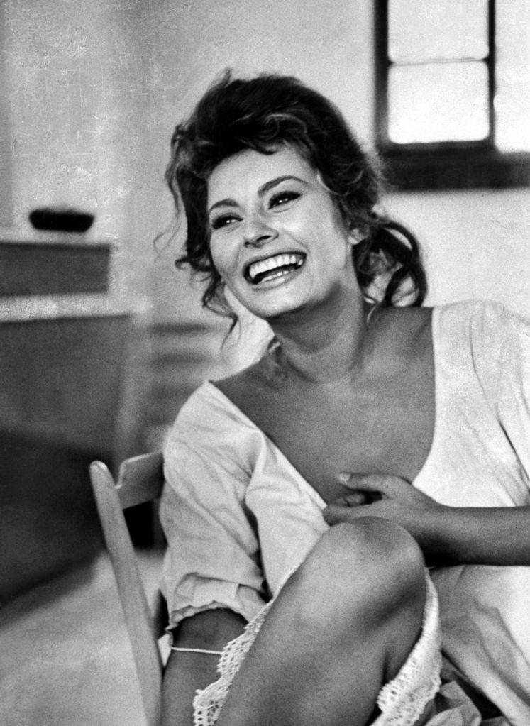 Sofía Loren, ,cine clásico,,Hollywood