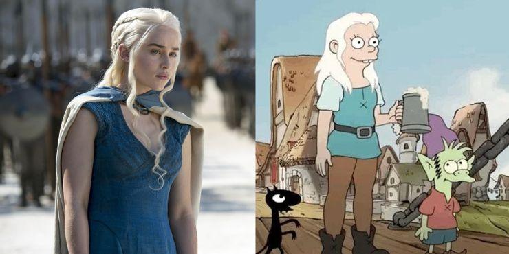 Daenerys Targaryen ,Game Of Thrones, Princesa Bean, Desencanto