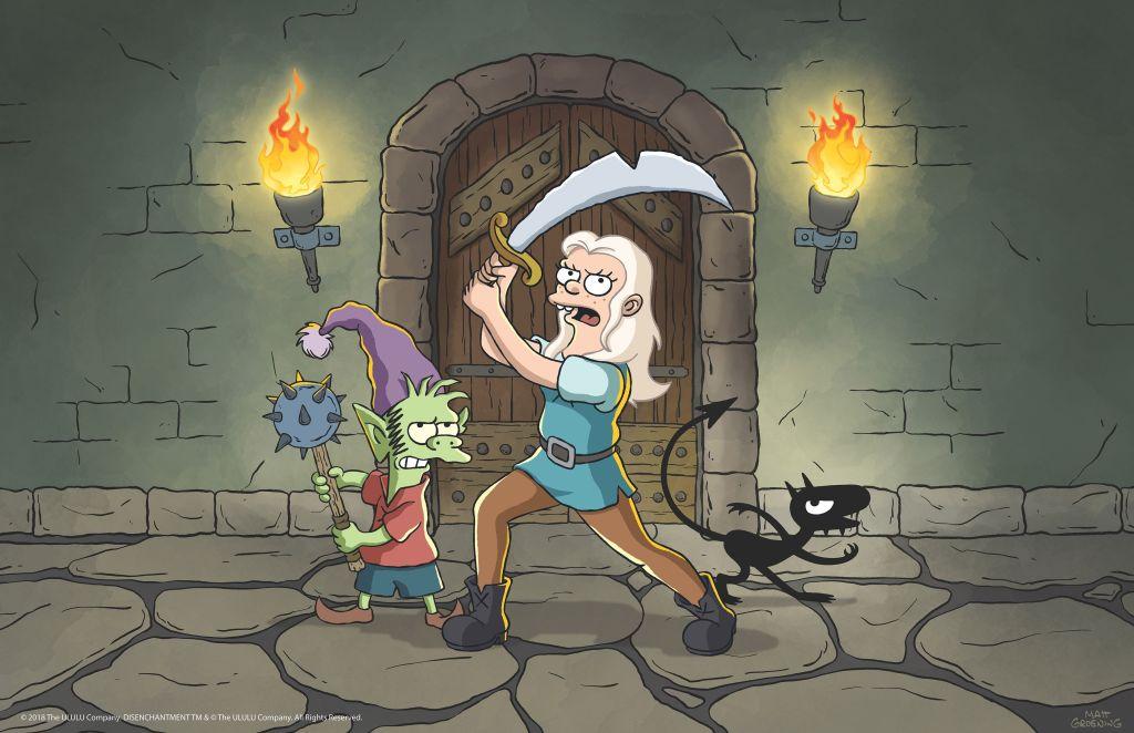Elfo, Princesa Bean, Luci, Desencanto