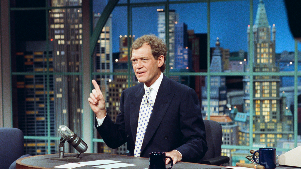 David Letterman,The Late Night Show