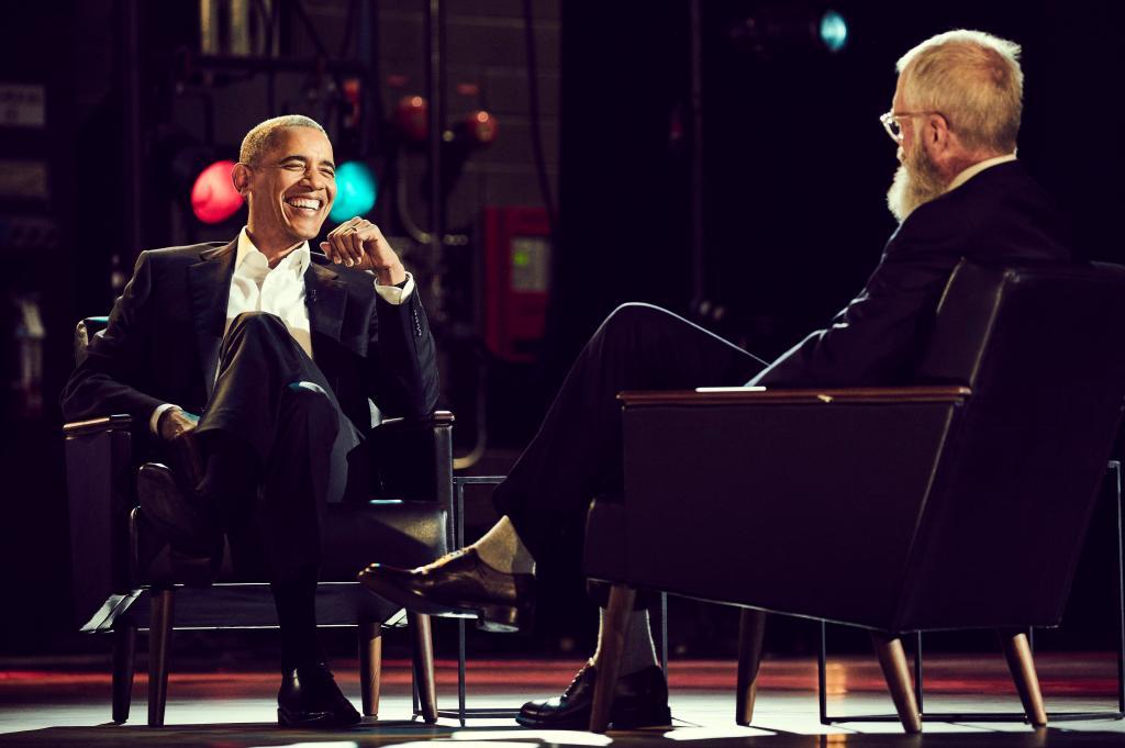 Barack Obama, David Letterman