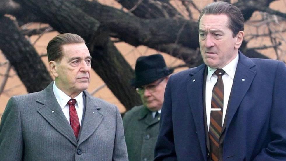 Al Pacino, Robert de Niro ,El irlandés