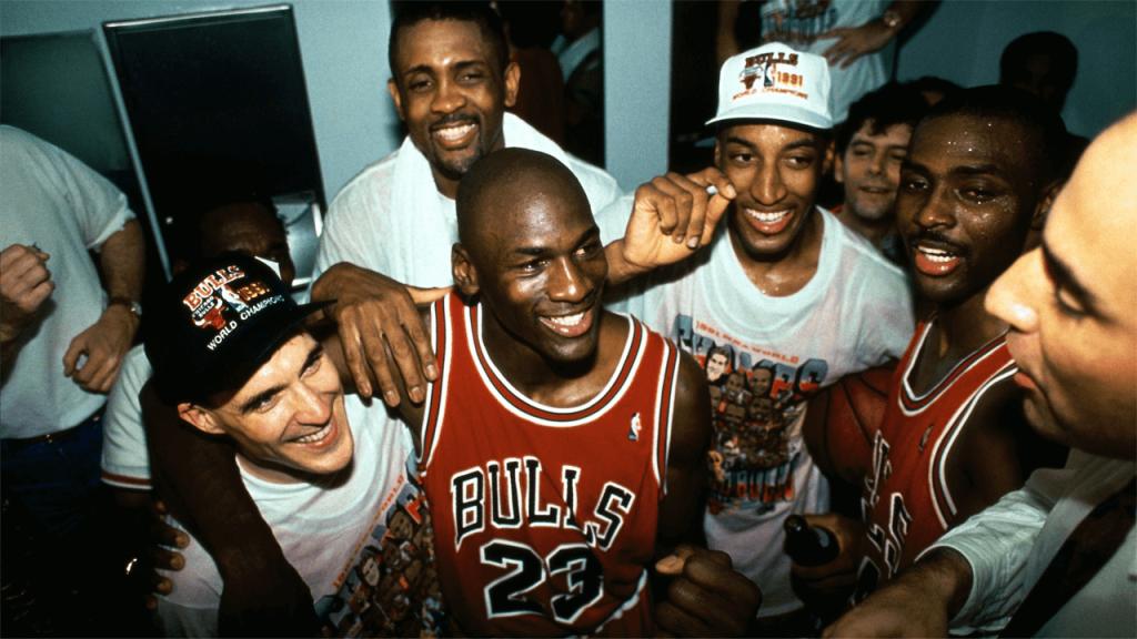 El ultimo baile, Michael Jordan