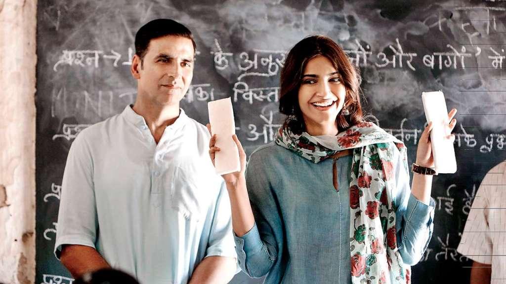 Akshay Kumar, Radhika Apte , Pad Man
